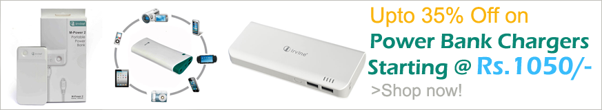 Get Upto 30% Off on Power Bank Chargers