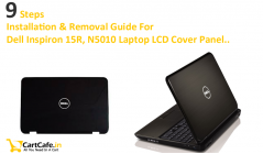 Steps To Follow While Looking For N5010, M501R, M5010 15R Laptop LCD Back Cover Installation & Removal