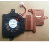 Samsung N210 Series Laptop CPU Cooling Fan With Heatsink