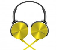 Sony MDR XB-450 ( Yellow ) Ear Headphones with Extra Bass