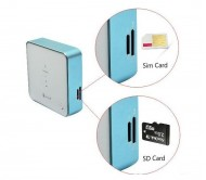 Smart Pocket 2G/3G SIM Wireless & Portable Mifi/Wifi Router/Modem, Inbuilt Power Bank